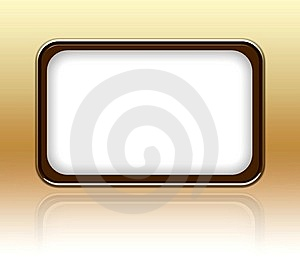 Blank Modern Frame Royalty Free Stock Photo - Image: 10468635