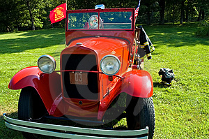 Antique Firetruck - 2 Royalty Free Stock Photo - Image: 1052365