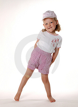 Standing Girl Royalty Free Stock Images - Image: 1057319