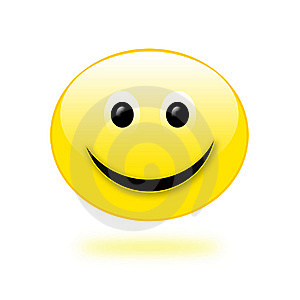 Smiling Emoticon Stock Photography - Image: 10509622