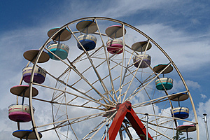 Ferris Wheel I Royalty Free Stock Image - Image: 1068006