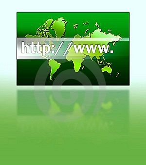 Internet address Royalty Free Stock Photos