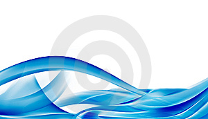 Abstact blue background Stock Photography