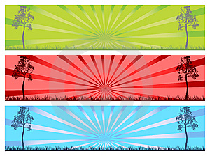 3 Banner Royalty Free Stock Photos - Image: 10632408