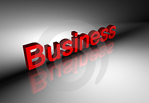 Sample business text Stock Photos
