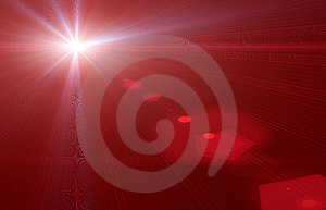 Red Flare Royalty Free Stock Image - Image: 10670826