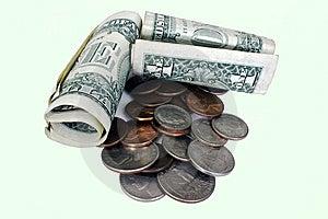 American Money Royalty Free Stock Photo - Image: 10692595