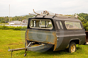 Homemade Utility Trailer Stock Images - Image: 1074024