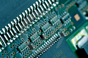 Computer plate background Stock Image