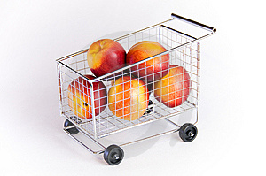 Shopping cart Stock Image