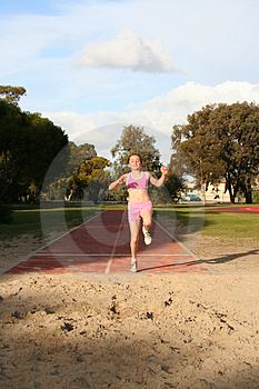 Long Jump Stock Photos - Image: 1080703