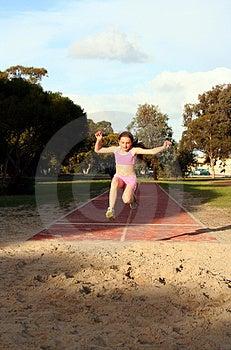 Long Jump Royalty Free Stock Image - Image: 1080716