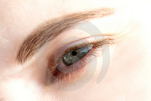 Dream eye Stock Photo