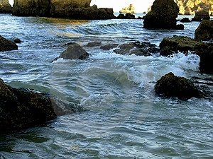 Sea In Lagos I Stock Photography - Image: 1082792
