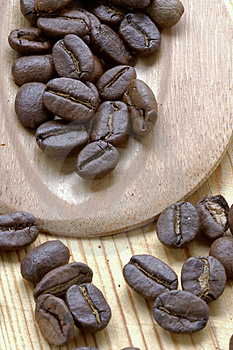 Coffee Grains Royalty Free Stock Photo - Image: 1086215