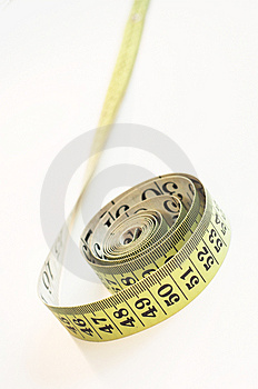 Coiled Tape Royalty Free Stock Image - Image: 1087916