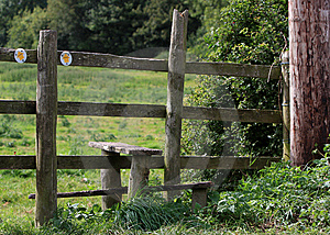Stile - Wooden Royalty Free Stock Image - Image: 10862166