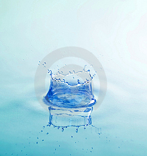 Splash of water