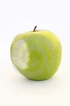 Apple Bite Royalty Free Stock Images - Image: 1090519