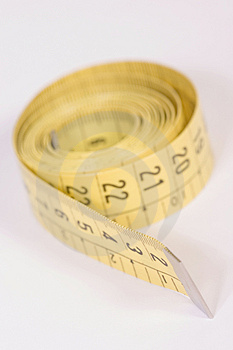 Tailor's Measuring Tape Stock Photography - Image: 1093112