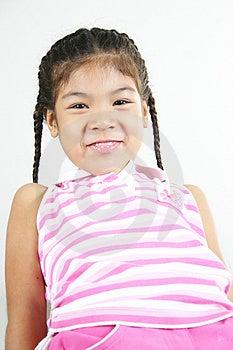 Cute Little Girl 89 Stock Image - Image: 1095661
