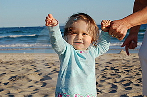 First Steps Royalty Free Stock Photos - Image: 10931658