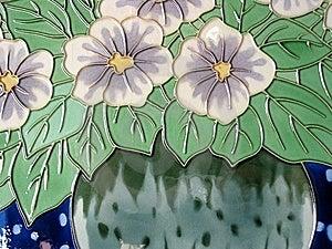 Ceramic Glazed Painting Royalty Free Stock Photography - Image: 10935687