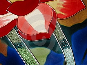 Ceramic Glazed Painting Royalty Free Stock Photography - Image: 10935727