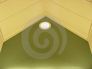 Ceiling Port Hole Free Stock Photography