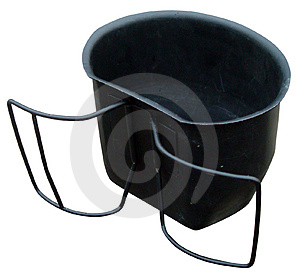 Steel Cup Stock Photos
