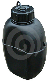 Garrafa bebendo Imagens de Stock