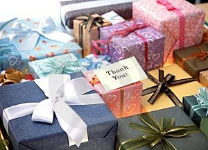 Gift Box Free Stock Photography