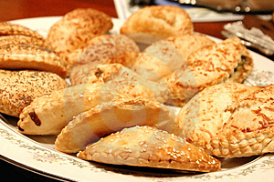 Home Made Biscuits 2 Stock Photos