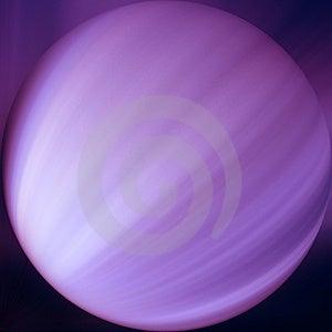 Пурпуровая сфера Стоковые Изображения RF