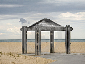 Beach Pavilion Free Stock Photos