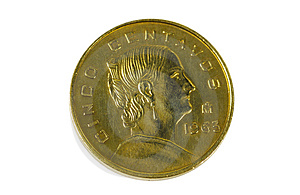 Centavos Free Stock Photography