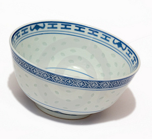 Chinese Bowl Stock Photography