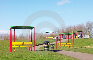 Summer Park Stock Photography