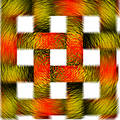 Blury squares Stock Images
