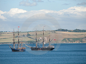 Tall Ships Stock Images - Image: 1106274