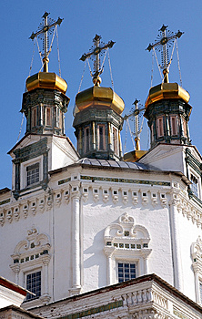 Golden Cupolas Of A Russian Orthodox Church Stock Image - Image: 11007341