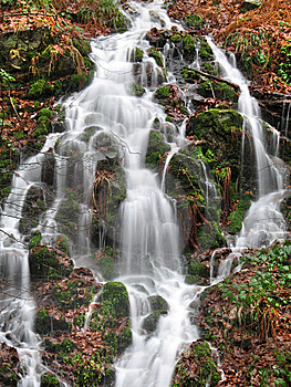 Little Waterfall Stock Photos