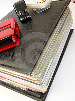 Binder Stock Image - Image: 1112131