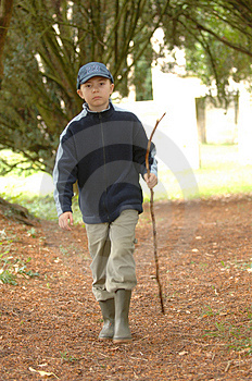 A Walk In The Park 1 Royalty Free Stock Images - Image: 1119099