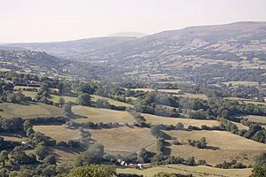 Welsh Valley Stock Photography - Image: 1119512