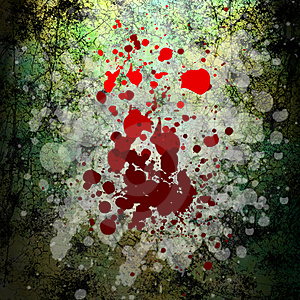 Grunge blood background Royalty Free Stock Photos