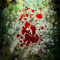 Grunge blood background