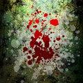 Grunge blood background