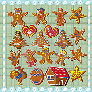 Ginger Bread Cookies Stock Image - Image: 11131281