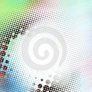 Резюмируйте предпосылку полутонового изображения Стоковая Фотография RF